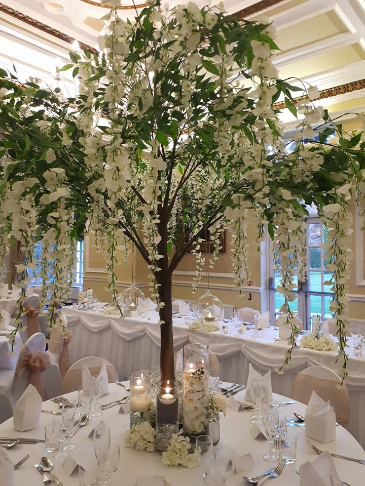Artificial Tree Hire Includes Blossom Wisteria Autumn