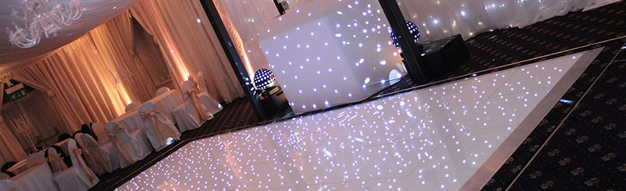 WHITE STARLIT DANCE FLOOR