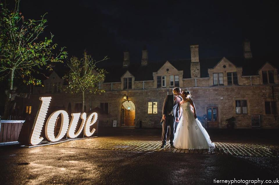 Illuminate Your Wedding Or Event With Love Letters And New
