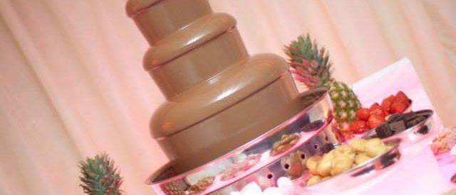choccolate fountain