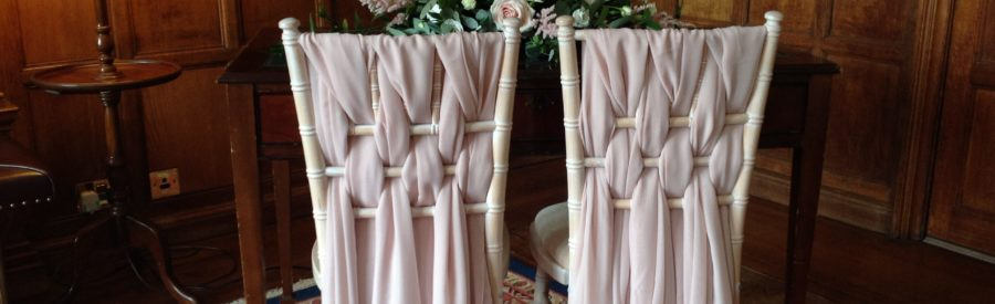 Pink Grecian Drape